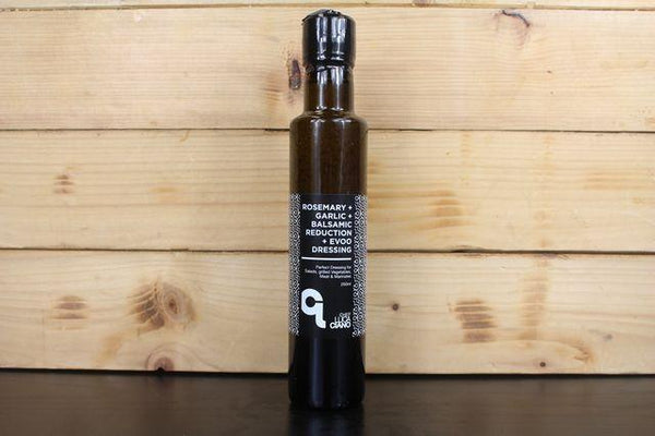 Luca Ciano Rosemary, Garlic, Balsamic Reduction with EVOO Dressing 250ml Pantry > Fresh Sauces, Condiments & Dressings