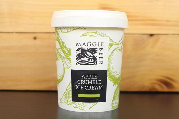 Maggie Beer Apple Crumble Ice Cream 500ml Freezer > Ice Cream