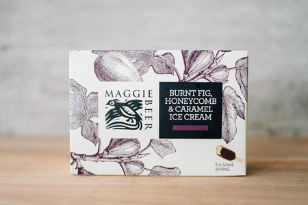 Maggie Beer Burnt Fig Honeycomb & Caramel Ice Cream Stick 6 x 50ml Freezer > Ice Cream