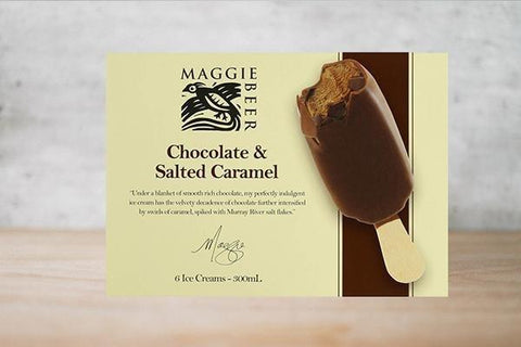 Chocolate & Salted Caramel Ice Cream 500ml