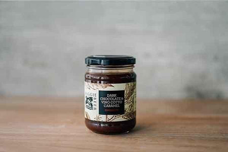 Maggie Beer Dark Chocolate and Vino Cotto Caramel 250g Pantry > Nut Butters, Honey & Jam