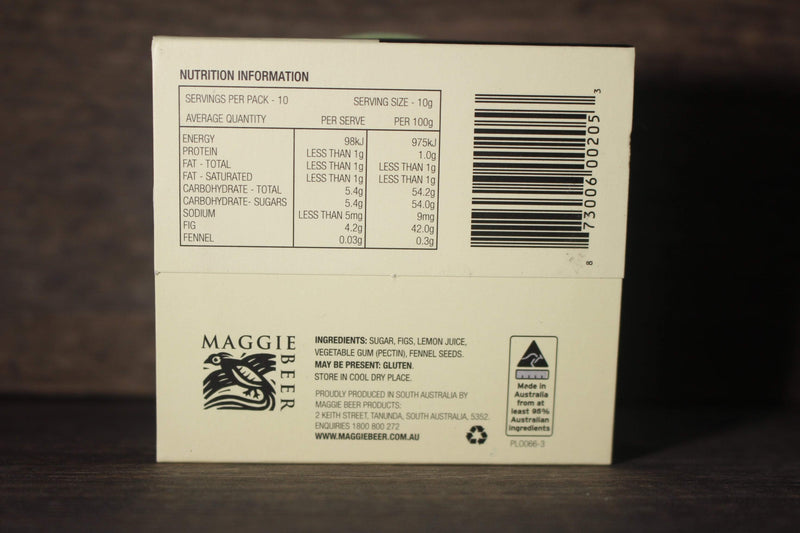 Maggie Beer Fig and Fennel Paste 100g Pantry > Condiments