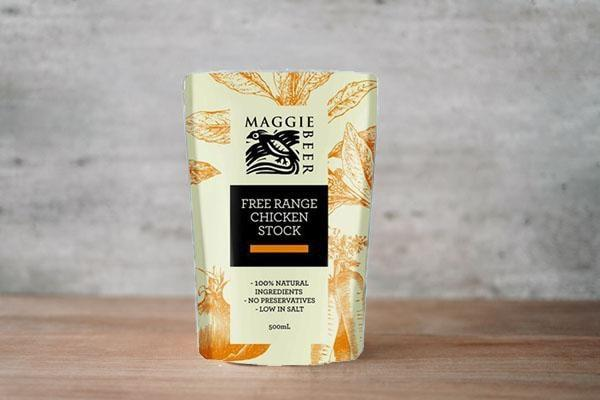Maggie Beer Free Range Chicken Stock 500ml Pantry > Broths, Soups & Stocks