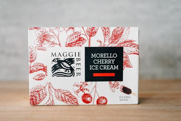 Maggie Beer Morello Cherry Ice Cream 6 x 50ml Freezer > Ice Cream