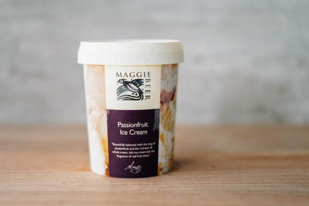 Maggie Beer Passionfruit Ice Cream 500ml Freezer > Ice Cream