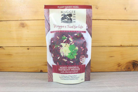 Maggie Beer Plant Mixed Grain & Beetroot Medley with Horseradish 270g To Go > Ready to eat