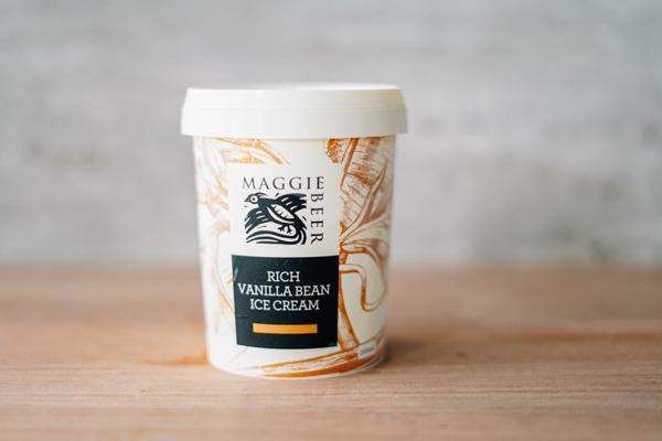 Maggie Beer Rich Vanilla Bean Ice Cream 500ml Freezer > Ice Cream