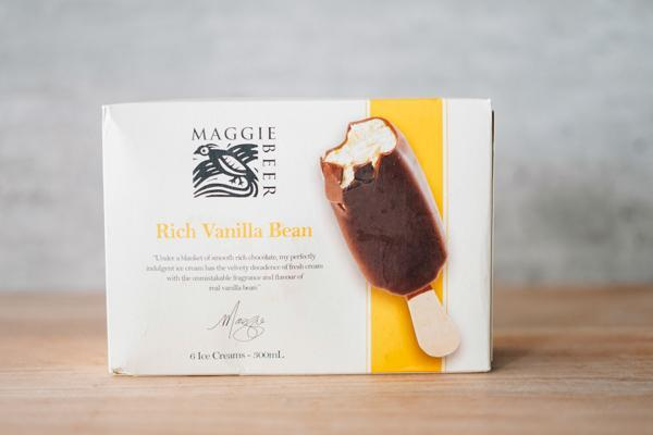 Maggie Beer Rich Vanilla Bean Ice Cream 6 x 50ml Freezer > Ice Cream
