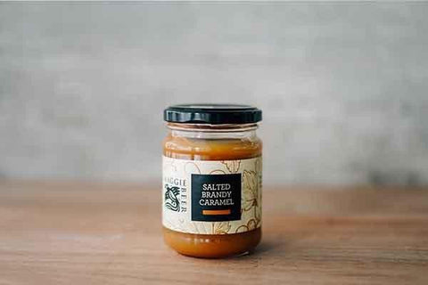 Maggie Beer Salted Brandy Caramel 250g Pantry > Nut Butters, Honey & Jam