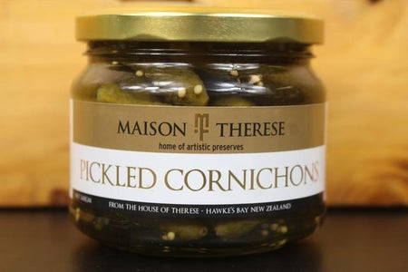 Maison Therese MT Pickled Cornichons 340g Pantry > Antipasto, Pickles & Olives