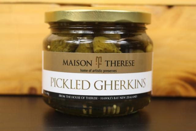 Maison Therese MT Pickled Gherkins 340g Pantry > Antipasto, Pickles & Olives