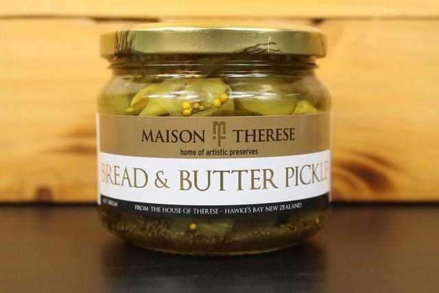 Maison Therese MT Pickles Bread & Butter Pantry > Antipasto, Pickles & Olives