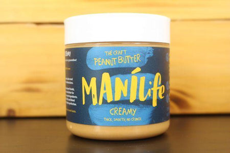 Manilife Manilife Creamy Peanut Butter 295g Pantry > Nut Butters, Honey & Jam