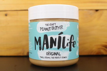 Manilife Manilife Original Crunchy Peanut Butter 295g Pantry > Nut Butters, Honey & Jam