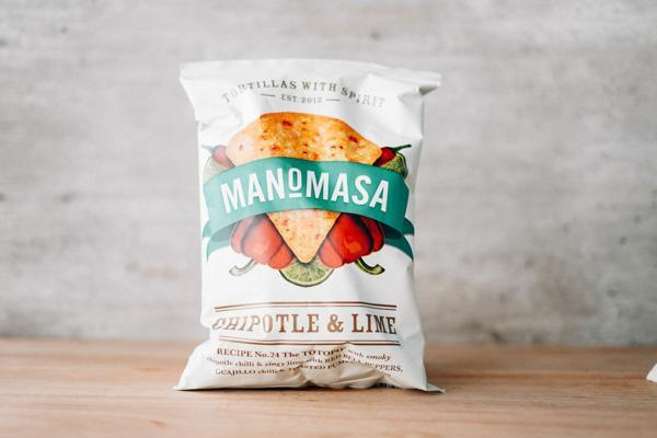 Manomasa Chipotle & Lime Corn Chip 160g Pantry > Cookies, Chips & Snacks
