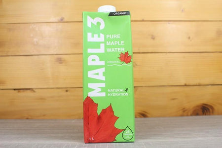 Maple 3 Organic Pure Maple Water 1L Drinks > Water