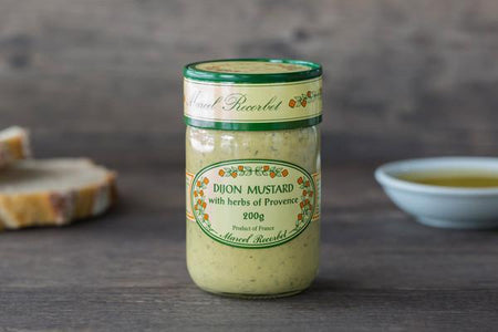 Marcel Recorbet Dijon Mustard with Herbs of Provence 200g Pantry > Condiments
