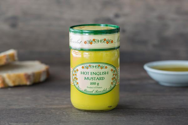 Marcel Recorbet Hot English Mustard 200g Pantry > Condiments