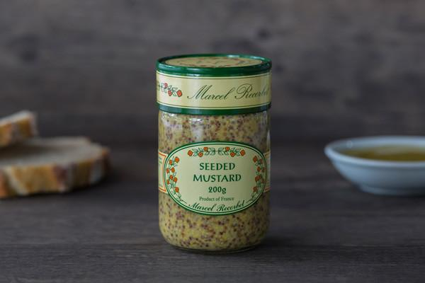 Marcel Recorbet Seeded Mustard 200g Pantry > Condiments