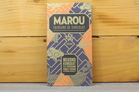 Marou Chocolate 68% Tien Giang Kumquat 80g Pantry > Confectionery