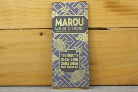 Marou Chocolate 70% Tien Giang 24g Pantry > Confectionery