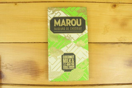 Marou Marou 55% Chocolate Ben Tre Coconut 80g Pantry > Confectionery