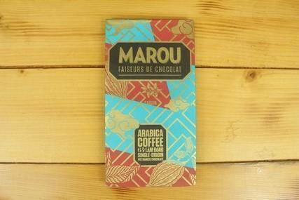 Marou Marou 64% Chocolate Lam Dong Coffee 80g Pantry > Confectionery