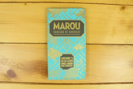 Marou Marou 74% Chocolate Lam Dong 80g Pantry > Confectionery