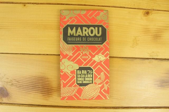 Marou Marou 76% Chocolate Ba Ria 80g Pantry > Confectionery