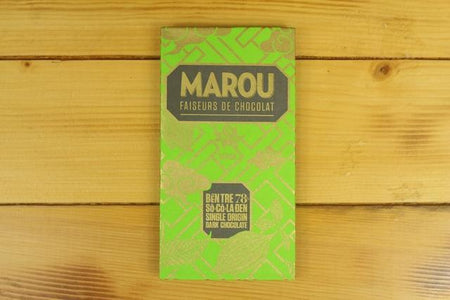 Marou Marou 78% Chocolate Ben Tre 80g Pantry > Confectionery