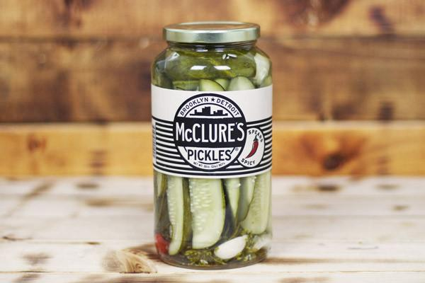 McClure's Spicy Pickle Spears 907g Pantry > Antipasto, Pickles & Olives