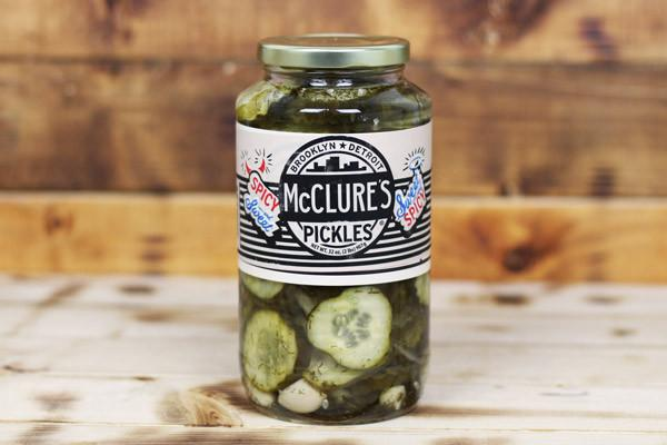 McClure's Sweet & Spicy Crinkle Cut Pickles 907g Pantry > Antipasto, Pickles & Olives