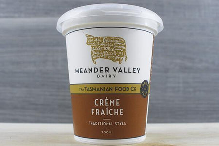 Meander Valley Meander Valley CrŠme Fraiche 200ml Dairy & Eggs > Other Creams & Cheeses