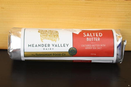 Meander Valley Meander Valley Salted Butter 250g Dairy & Eggs > Butter