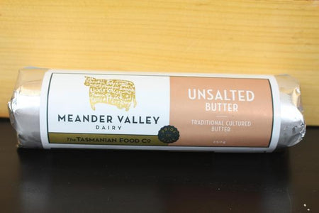Meander Valley Meander Valley Unsalted Butter 250g Dairy & Eggs > Butter