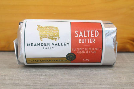 Meander Valley Salted Butter 150g Dairy & Eggs > Butter