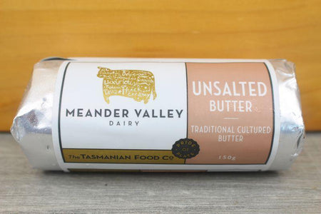 Meander Valley Unsalted Butter 150g Dairy & Eggs > Butter