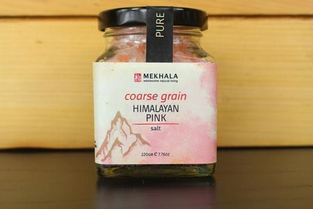 Mekhala Himalayan Pink Salt Coarse 220g Pantry > Baking & Cooking Ingredients