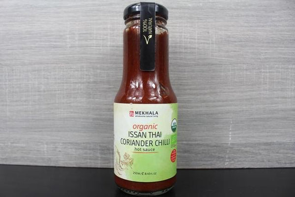 Mekhala Org Issan Thai Coriander Chilli Hot Sauce 250ml Pantry > Condiments