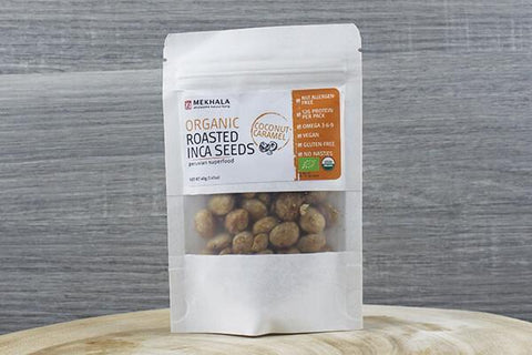 Org Roasted Inca Seeds (Roasted Seaweed) 40g