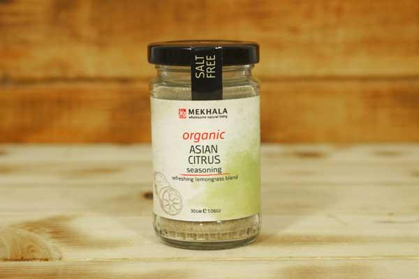 Mekhala Organic Asian Citrus Seasoning 30g Pantry > Baking & Cooking Ingredients