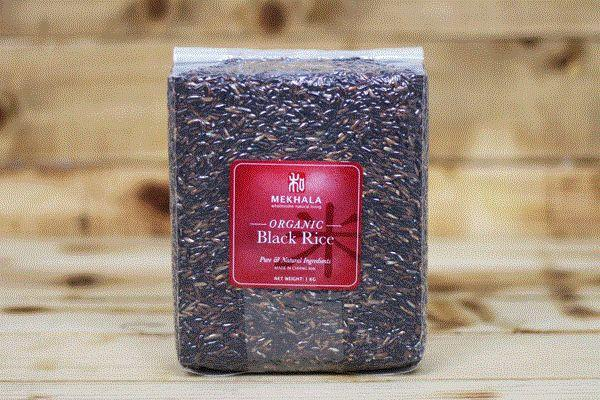 Mekhala Organic Black Rice 1kg Pantry > Grains, Rice & Beans