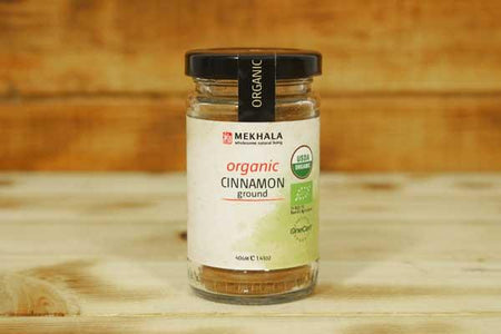Mekhala Organic Cinnamon (Ground) 40g Pantry > Baking & Cooking Ingredients
