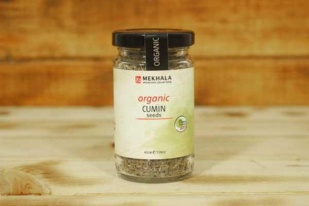 Mekhala Organic Cumin Seeds 45g Pantry > Baking & Cooking Ingredients