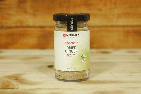 Mekhala Organic Dried Ginger (Ground) 40g Pantry > Baking & Cooking Ingredients