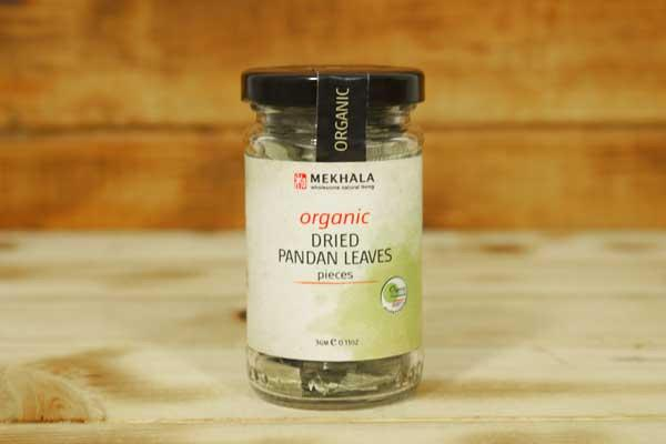 Mekhala Organic Dried Pandan Leaves 3g Pantry > Baking & Cooking Ingredients