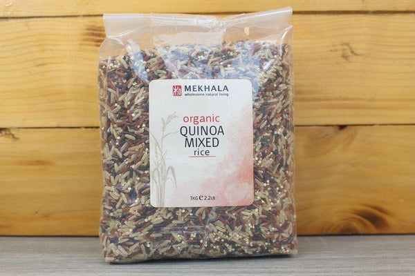 Mekhala Organic Quinoa Mixed Rice 1kg Pantry > Grains, Rice & Beans