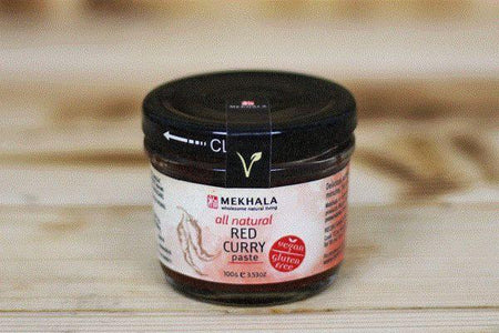 Mekhala Organic Red Curry Paste 100g Pantry > Condiments