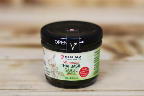Mekhala Organic Thai Basil Garlic Paste 100g Pantry > Condiments