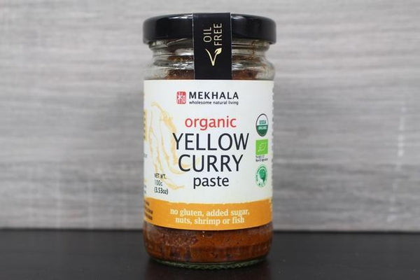 Mekhala Organic Thai Yellow Curry Paste 100g Pantry > Condiments